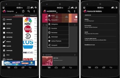 Mobdro-for-android phone
