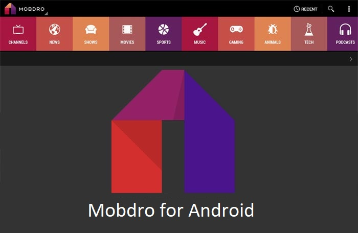 Mobdro-for-android